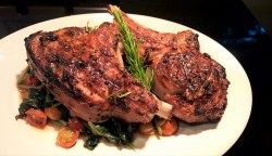 Intriguing Spinach Pecorino Around Table Veal Chop Recipes Baked Veal Chop Recipes Gordon Ramsay Recipe Based On One From Lidia Italian Table Cookbook Veal Chops