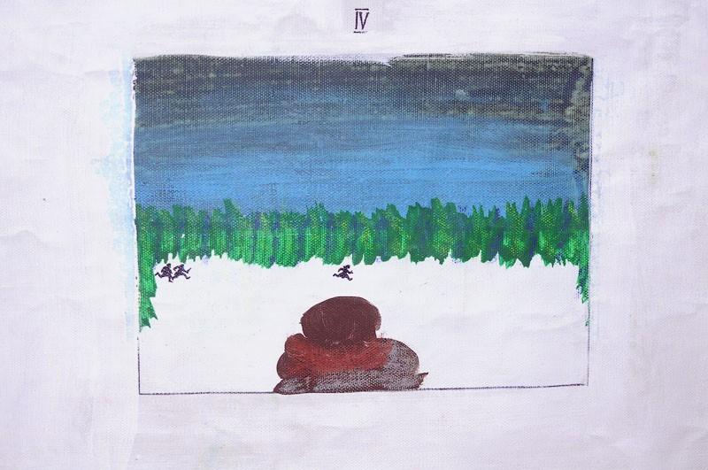 Пробегание, фрагемнт, Сергей Ануфриев, 2010 // Фото: Владимир Михайлуца, предоставлено Антоном Чумаком
