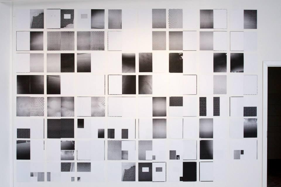 Работа Пьера Ле Ора, «Игра света», Галерея «21», Москва, 2013 // Фото: галерея «21»