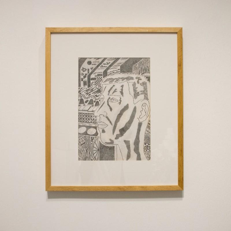 Мальчик из Переславля-Залесского. 1970. Бумага, карандаш, белила. Собственность автора