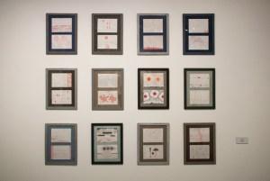 """Из серии """"Механическое рисование"""". 2002-2012. Бумага, цветной карандаш. Собственность автора"""