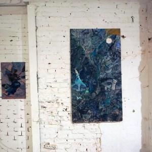 «Падение» (слева), «Апокалипсис» (справа)