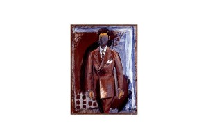 """""""Мужчина в костюме. Дифирамбический"""", 1976"""