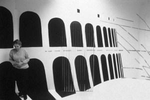 Ирина Нахова, Комната №5, 1988 // Фото: conceptualism.letov.ru