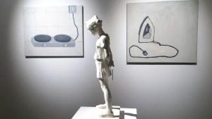 """На переднем плане - Юлия Жданова, из проекта """"Юные Пионеры"""", на заднем плане - Аня Желудь, из проекта """"Бытовая техника"""""""