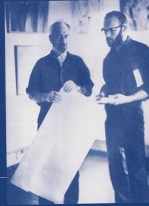 Владимир Стерлигов и Геннадий Зубков // 1971