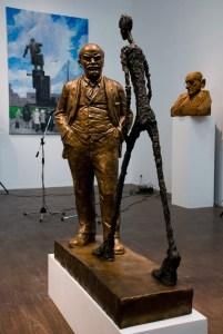 Леонид Соков, Ленин и Джакометти, 1989