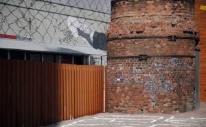 """В рамках выставки """"Вспомни завтра"""",  Музей уличного пространства, Санкт-Петербург, 2015"""