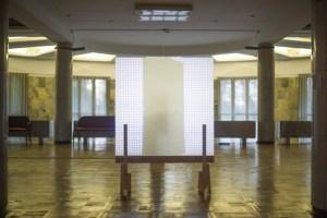 """Инсталляция """"Подозрение"""" на выставке """"Контриллюзии"""" в ДК ЗИЛ, 2013"""