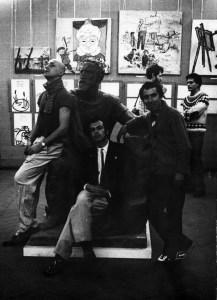 Однодневная выставка на Кузнецком мосту, Москва, ноябрь 1986-го