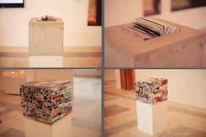 """""""Куб No3"""", """"Куб No4"""" // Выставка """"Течения"""", Самара, 2012"""