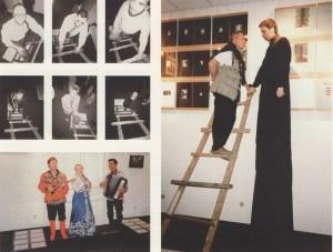 Два журнала, печи, пироги и рама // Галерея Obscuri Viri, Москва, 1996