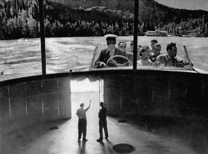 Кинозал в павильоне «Кинопанорама» на ВДНХ, 1959 //  Фото: Old Moscow pastvu.com