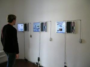 Оля Лялина. Газеты. Интерактивные страницы, гиф анимация. 26 марта 2005 года