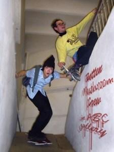 Ассамблея Наливка Запеканка + I.H.N.A.B.T.B. Rotten Mushroom Crew skateboads show. Визуально-музыкальный трансформанс. 27 января 2007 года