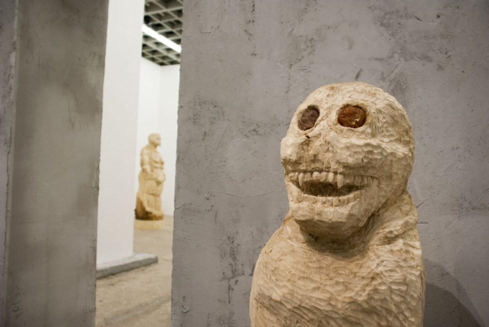 Фрагмент выставки «Семь подземных королей», галерея «Риджина», 2015 // Фото: Ольга Данилкина