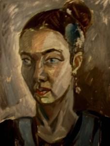 """Марианна Шпрайзер """"Портрет Лейли Аслановой"""", 2008"""
