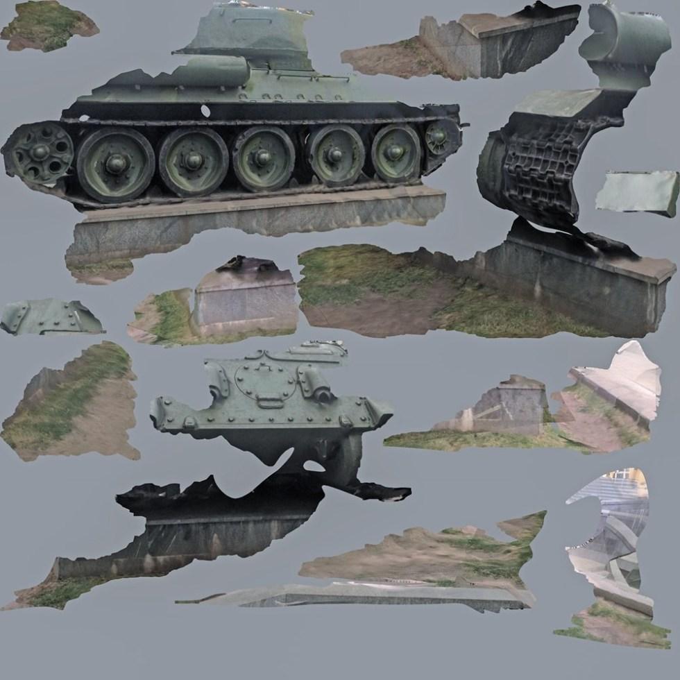 Хито Штейрль. Tank/Texture, 2015