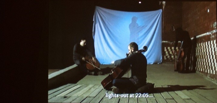 U/n multitude. Музыка тюрем. Кадр из видео. 2015