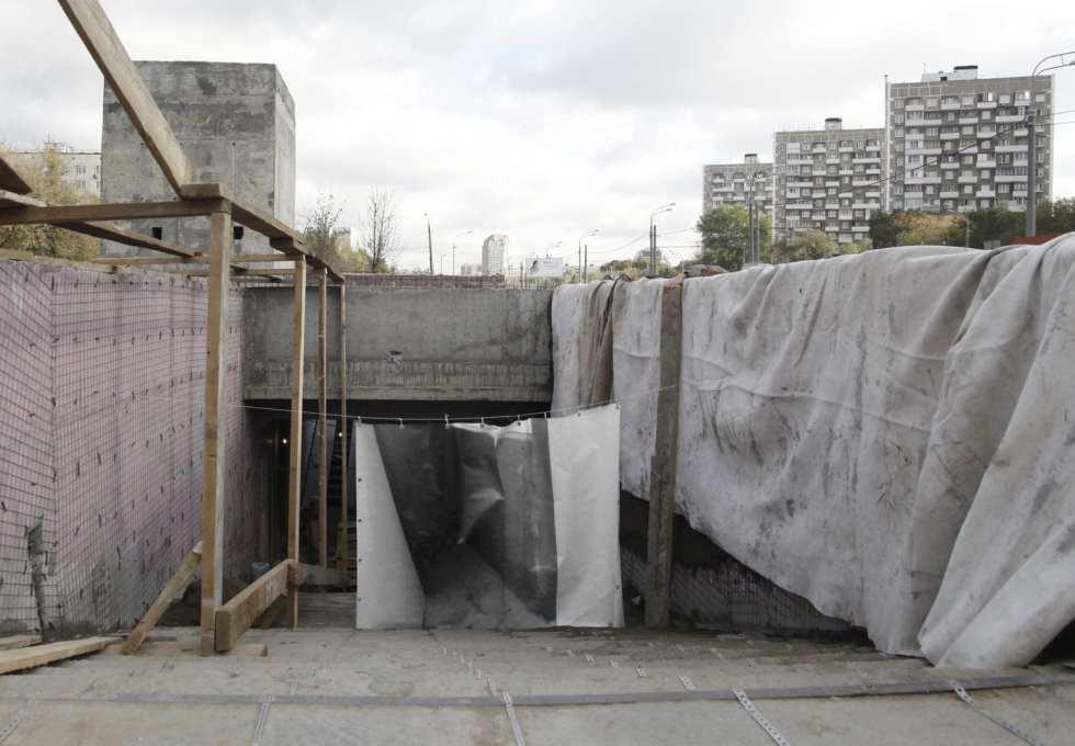 Подземный переход напротив бывшего Черкизовского рынка