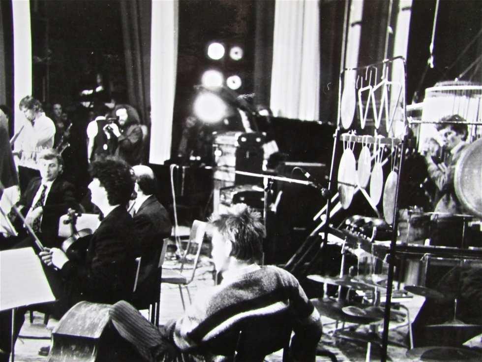 Выступление группы «Оркестрион» на фестивале авангардного джаза. Ленинград, Дом ученых, 1987