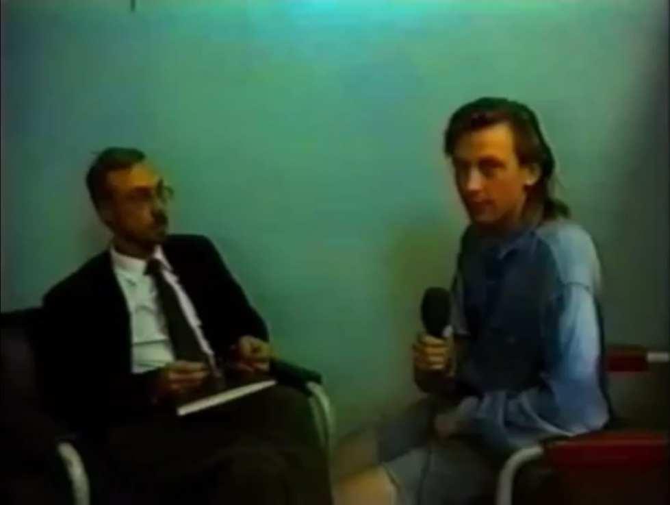 Виктор Назаров, Пётр Дзогаба. Лю Чжи – поэт в изгании. Кадры из видео, 18'29''. 1993