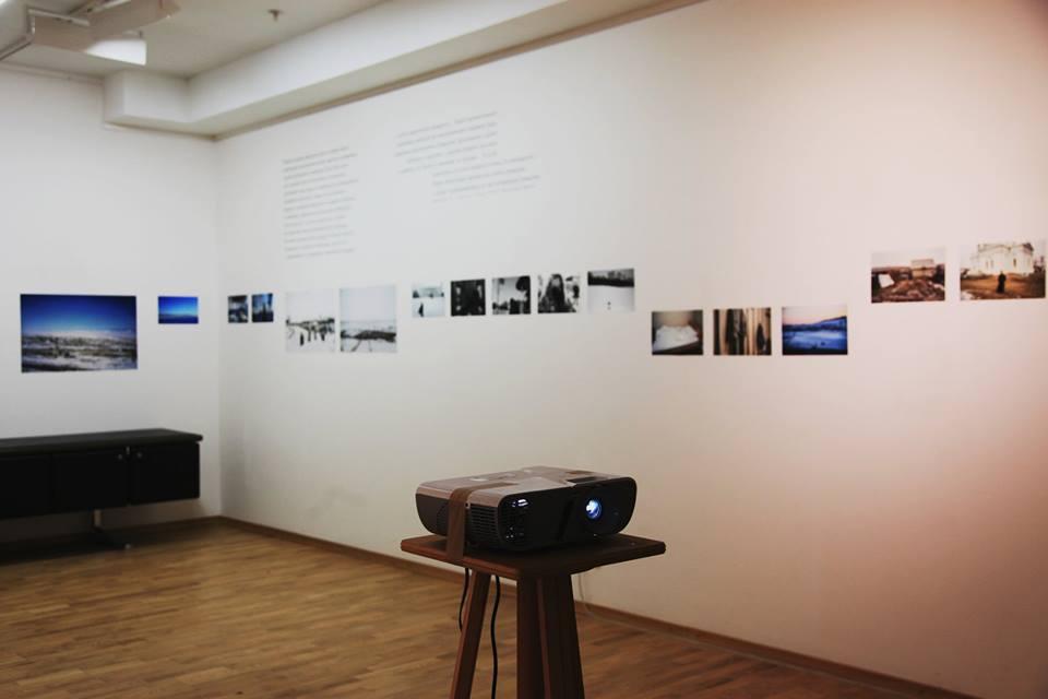 Вид экспозиции «Ледяной поход» в галерее классической фотографии. Фото: Евгения Зубченкова