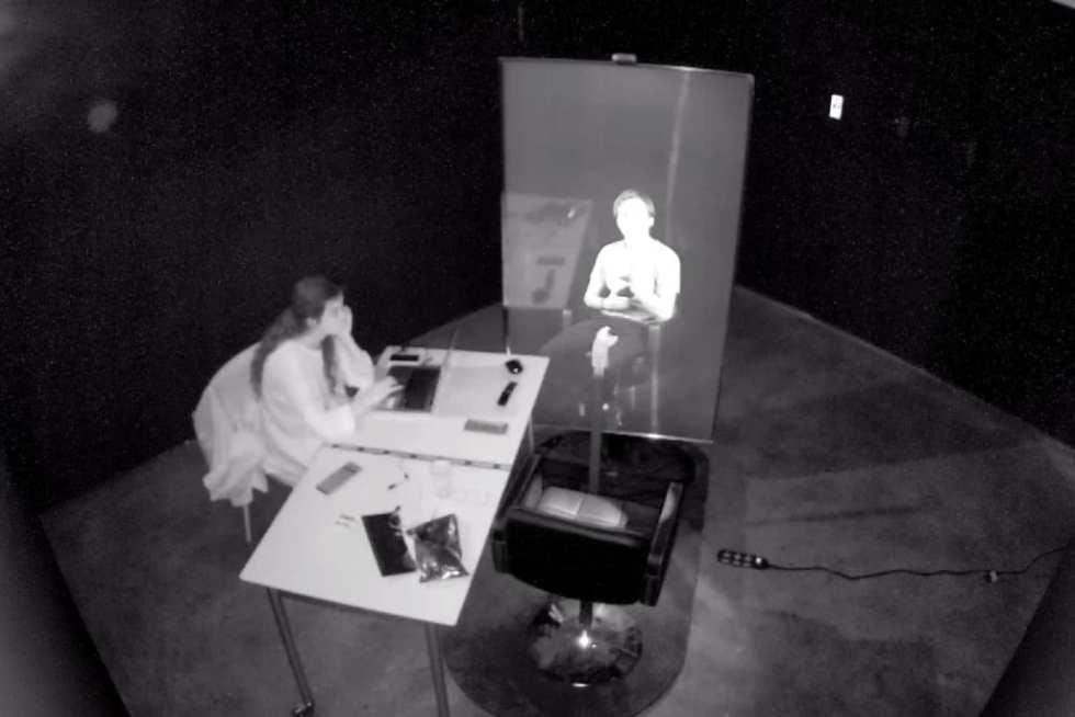 Surveillance test. Фото предоставлено художником.