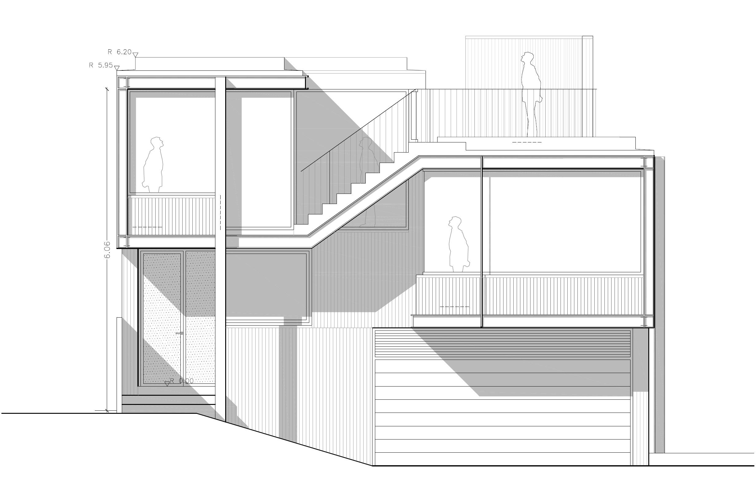 Anteproyecto de vivienda unifamiliar en s marti o moa a - Casas con estructura metalica ...