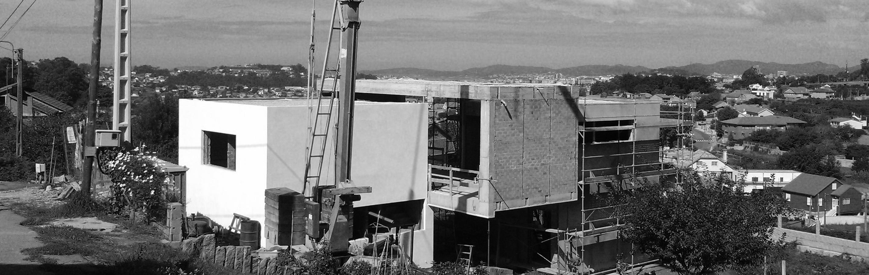 Construcci n de m dulos y voladizos casa en vigo - Estudios de arquitectura vigo ...