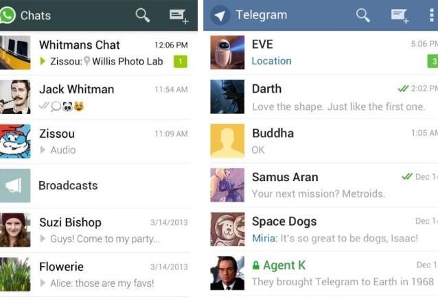 Quem é o rei? 8 recursos do Telegram que falta no Whatsapp