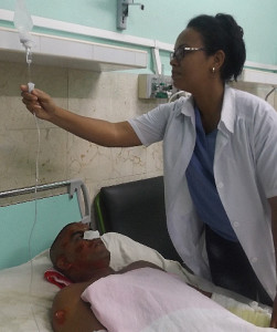 EXPLOSION EN FABRICA CUBANA