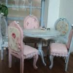 Cuscini da sedie in stile shabby il fai da te vincente for Cuscini per sedie stile shabby