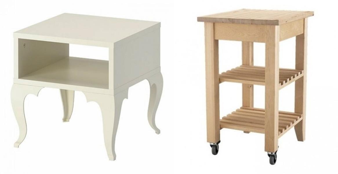 Come trasformare mobili ikea in stile shabby chic ecco - Ikea mobiletti bagno ...