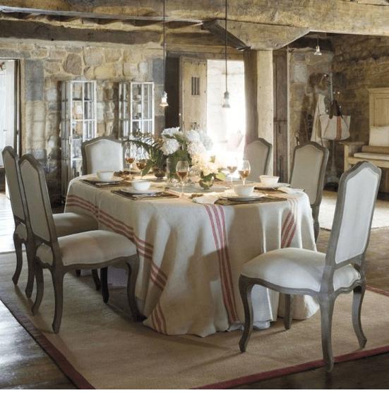 La sala da pranzo in stile provenzale ecco come arredarla - Sala da pranzo shabby chic ...