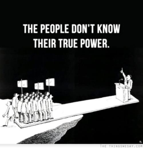 peuple pouvoirs