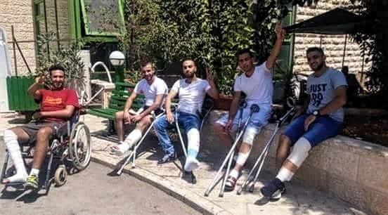 palestine isheh camp crippled Facebook_0