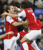 Arsenal were superb in their 4-0 win away to Reading