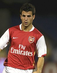Cesc Fabregas wants Arsenal to show more aggression
