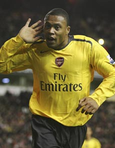 Julio Baptista's time at Arsenal is over