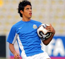 Young Mexican Carlos Vela is set to make his debut against Brazil today