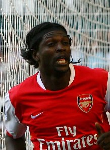 Adebayor was immense against Tottenham