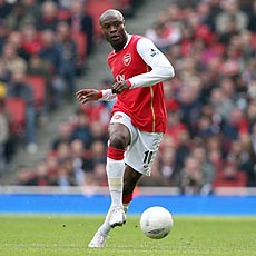 Gallas is not sure when he'll be back for Arsenal