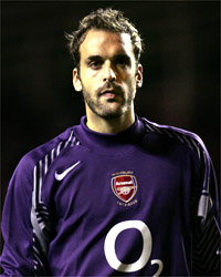 Manuel Almunia has earned his place in goals for Arsenal