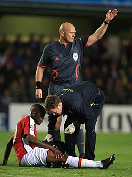 Gallas' injury exposed a huge lack of quality in defence