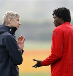 Adebayor looks set to be sold by Wenger