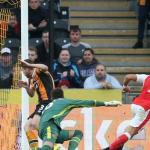 Arsenal score four to take the three points in emphatic win against Hull City