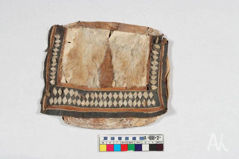 Сумка для хранения принадлежностей женского рукоделия после реставрации