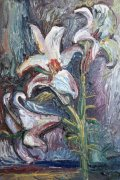 ArtMoiseeva.ru - Flowers - Lilies - Night - 2009