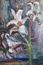 ArtMoiseeva.ru - Flowers - Lilies - Night - 2009
